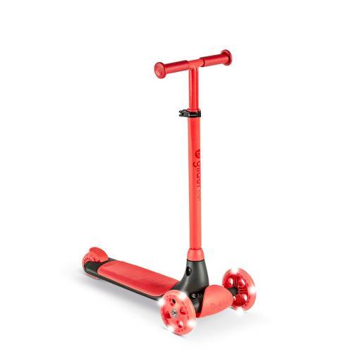 Yvolution Y Glider Kiwi Kids Scooter - Red
