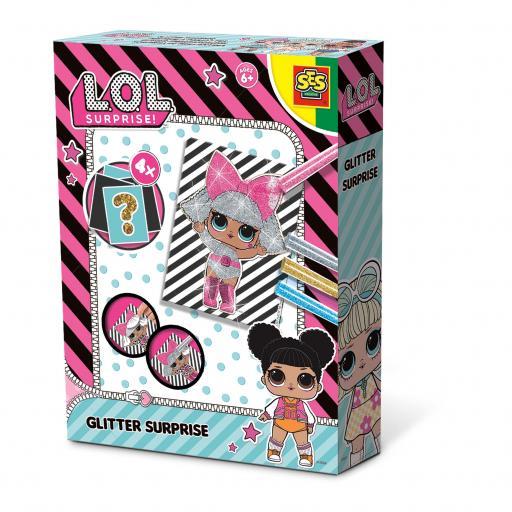 SES Creative L.O.L. Surprise Glitter Surprise