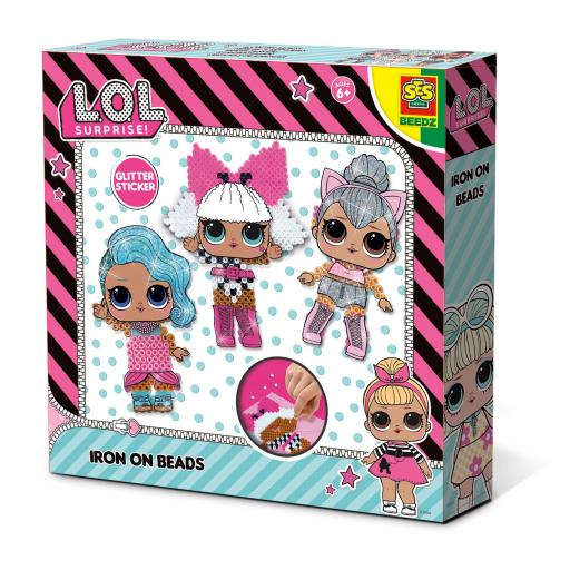 SES Creative L.O.L. Surprise Iron on beads