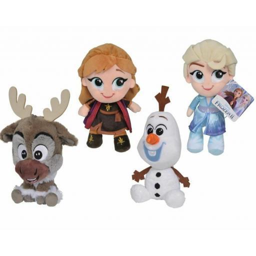 Original Disney Frozen 2 15cm Chunky Plush Toy Assortment