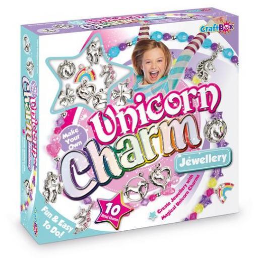 Craft Box Make Your Own Unicorn Jewellery