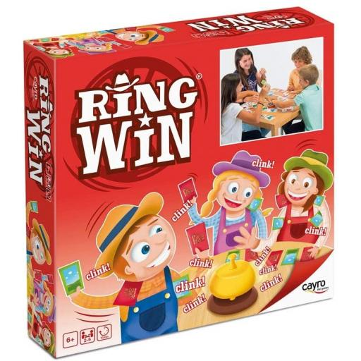 Cayro Ring Win Animal And Nature Board Game