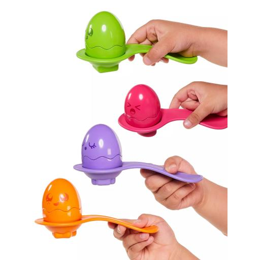 Tomy Hide & Squeak Egg & Spoon Set