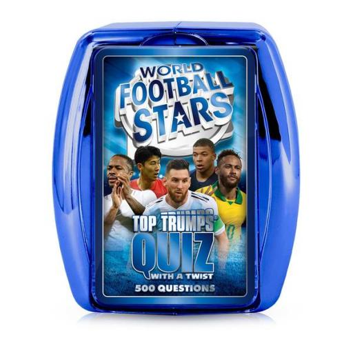 World Football Stars (Blue) Top Trumps Quiz