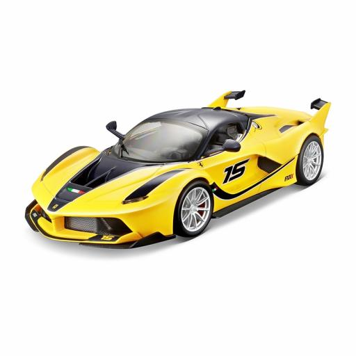 Bburago 1:24 Ferrari Racing Fxx-K Yellow