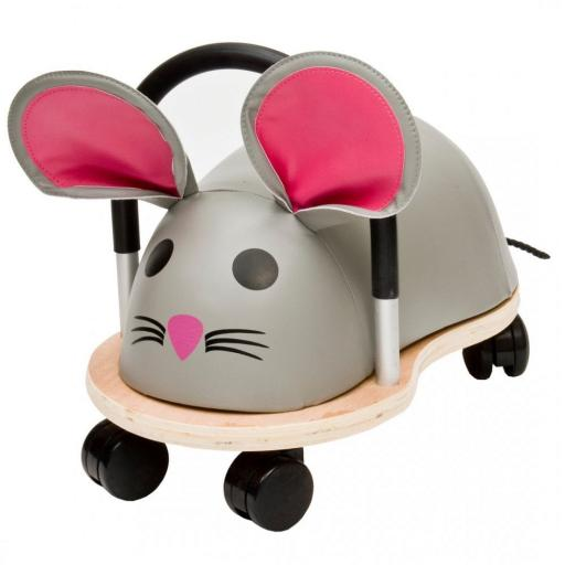 Wheelybug Kids Wooden Ride On Toy – Mouse (Small)