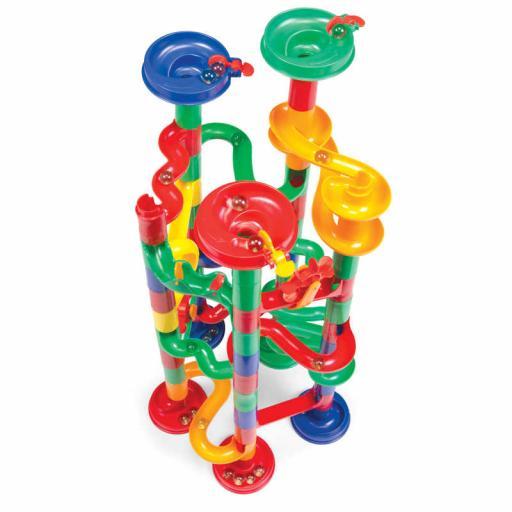 Tobar Marble Run 74-piece Course Building Toy Set