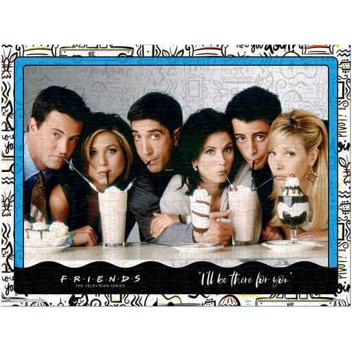 Friends Milkshake - 1000 Piece Jigsaw Puzzle