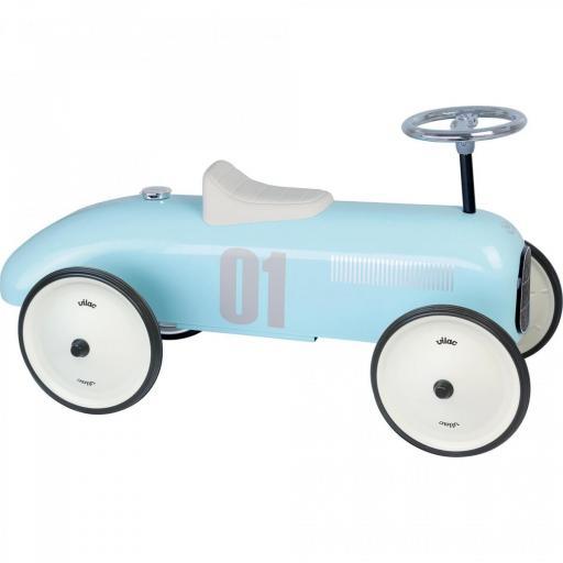 Vilac Classic Ride On Kids Car - Light Blue