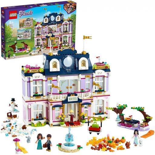 Lego Friends Heartlake City Grand Hotel Dollhouse Set 41684
