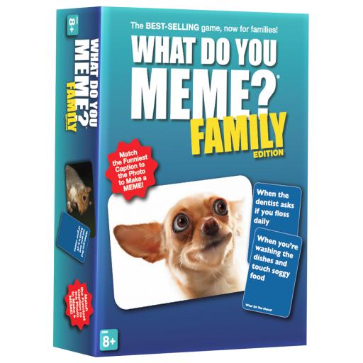 What Do You Meme Family Edition Card Game