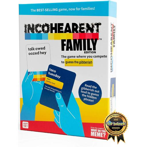 Incohearent Family Edition Card Game