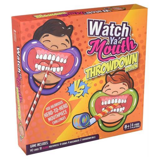 Watch Ya Mouth Throwdown Edition Family Game