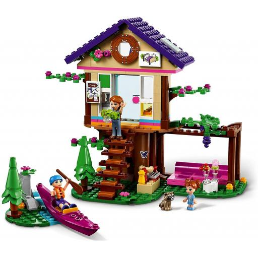 Lego Friends Forest House Treehouse Toy Adventure Set 41679
